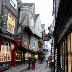 'The Shambles' is sometimes used as a general term for the maze of twisting, narrow lanes which make York so charming.  At its heart is the ...