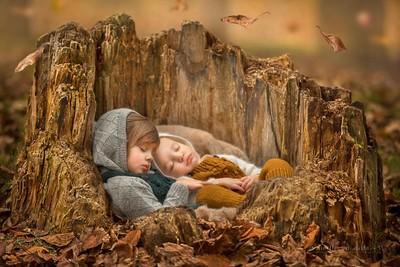 Autumn slumber: Noelle Mirabella Photography