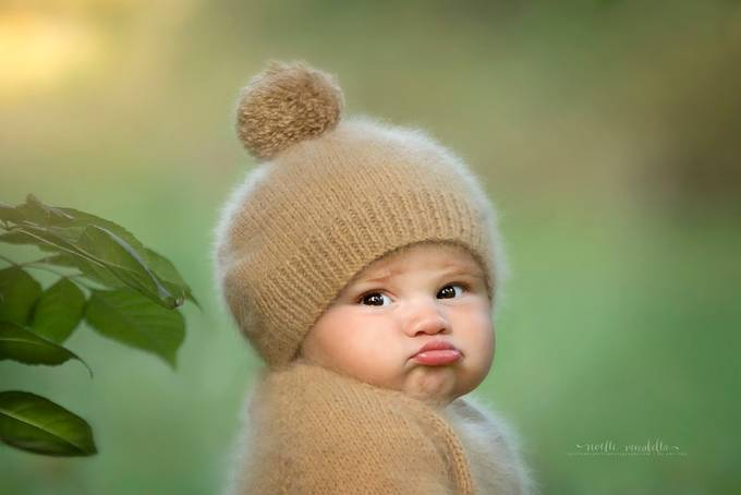 Best Baby Pout by NoelleMirabella - Baby Face Photo Contest