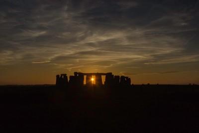 Stonehenge Sunset 1
