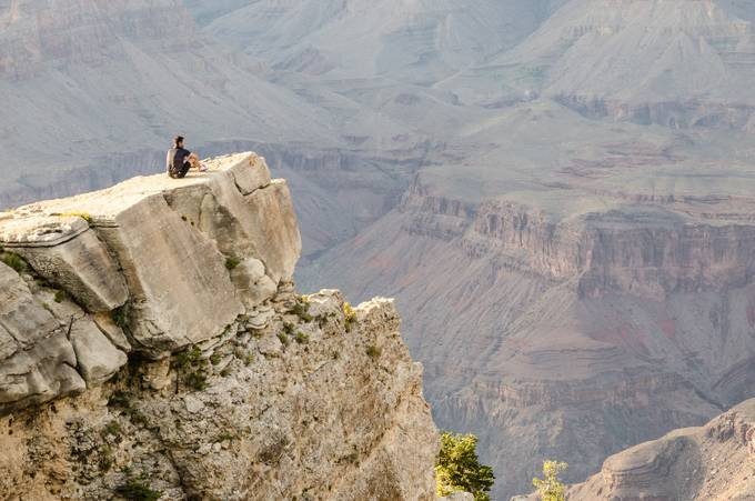 Grand Canyon Thoughts by stallone - Standing At The Edge Photo Contest
