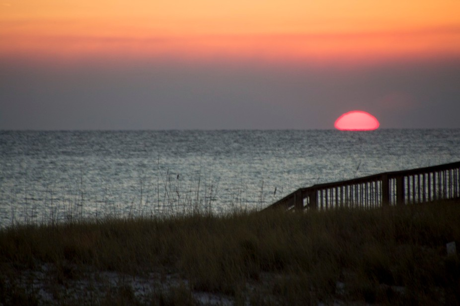 The most beautiful sunset in Navarre Florida