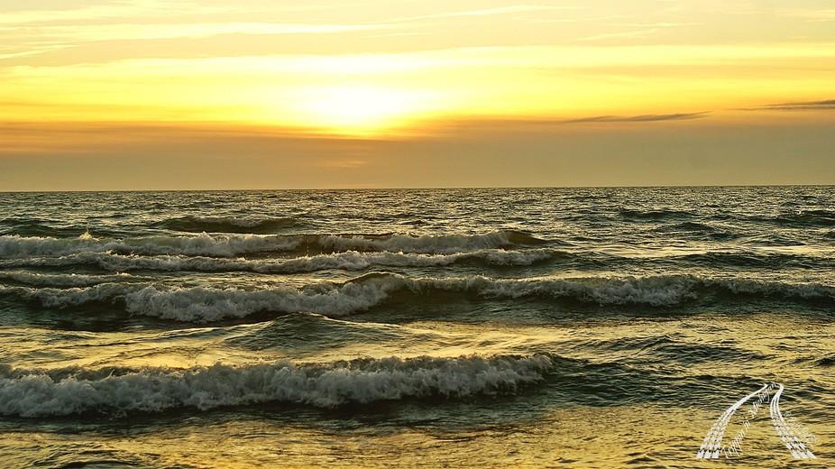 Nothing more beautiful than a Lake Michigan sunset from Michigan's Upper Peninsula