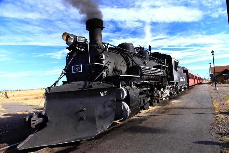 Steam Engine 487
