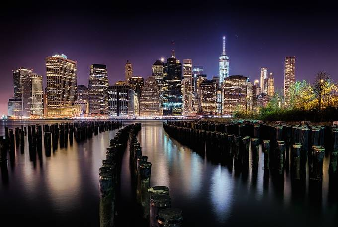 Manhattan Nights by emxsee - City Views Photo Contest