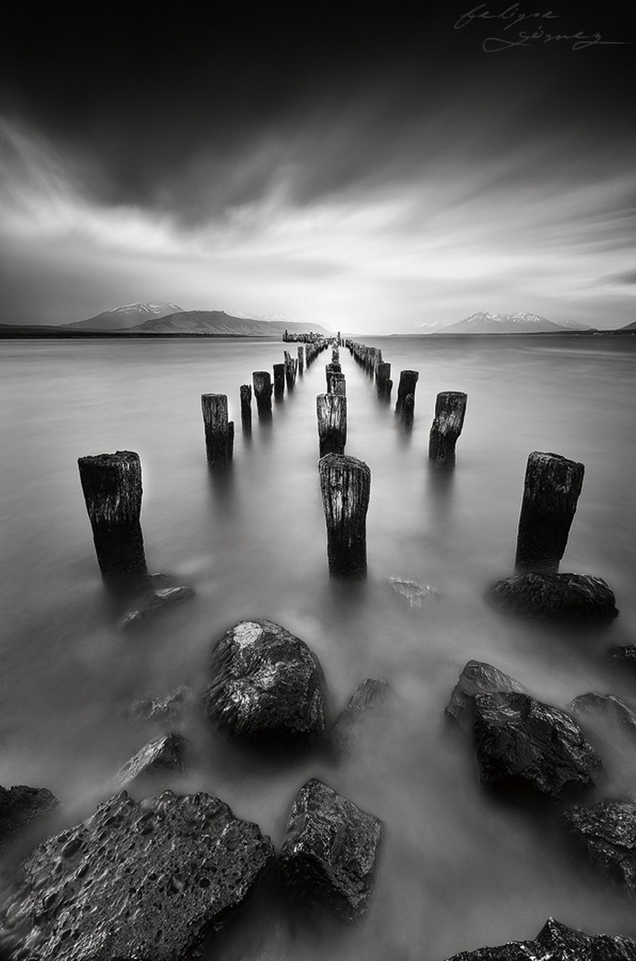 A long long wait by FGOphoto - A World In Black And White Photo Contest