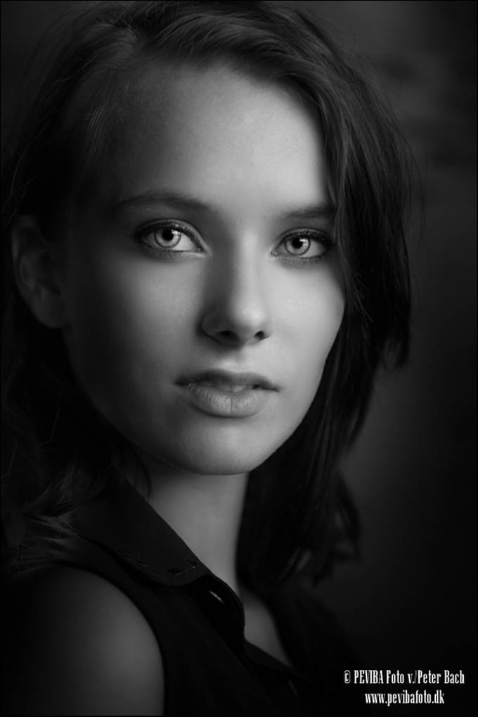 Cecilie Ebberup Madsen by PevibaFoto - Dramatic Portraits Photo Contest