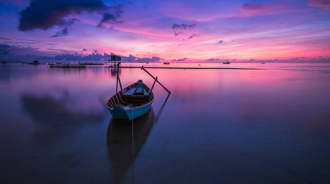 Peaceful Sunrise at Phu Quoc island by quanglv - Alluring Landscapes Photo Contest