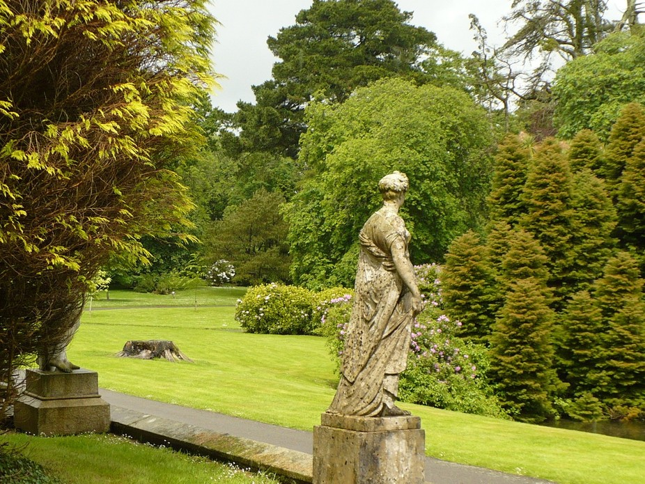Johnstown Castle Gardens in Wexford Ireland.  Beautiful area