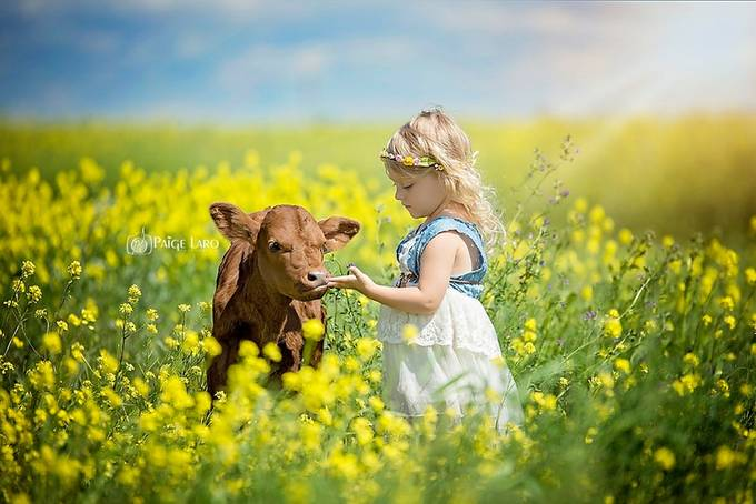 Farm Gal  by PaigeLaroPhotography - Kids And Pets Photo Contest