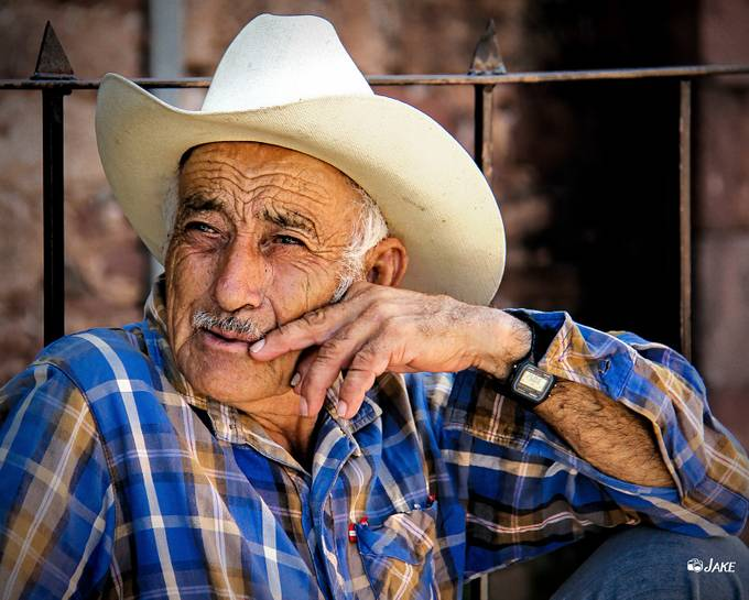 Weathered Cowboy by redwriter - The Face Of A Man Photo Contest