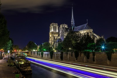 Calendrier de l'avent - Advent calendar : Notre Dame - Paris - France