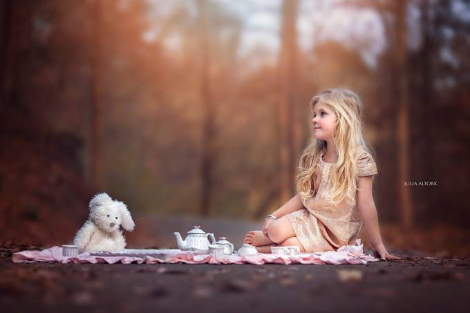 Tea Party by JuliaAltork - Innocence Photo Contest
