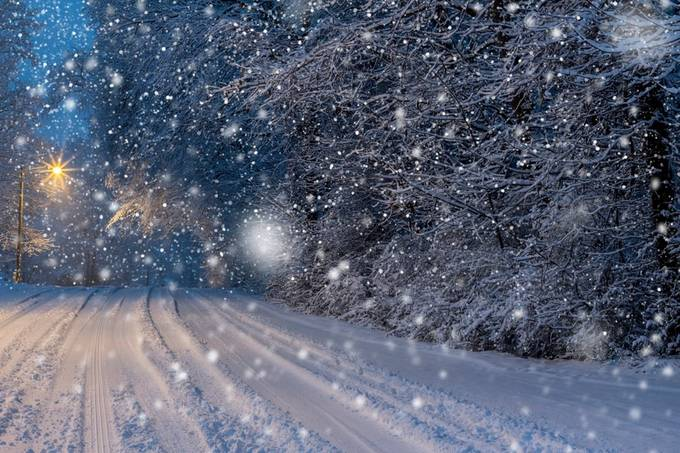 Winter Wonderland edited  by SethrHarman1 - Winter Roads Photo Contest