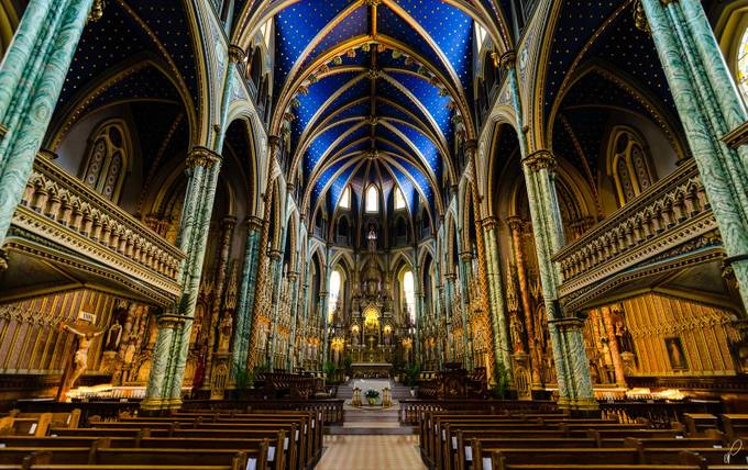 Notre Dame Basilica by empty_quarter