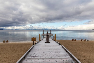 Pier on Lake Tahoe, Incline Village, California