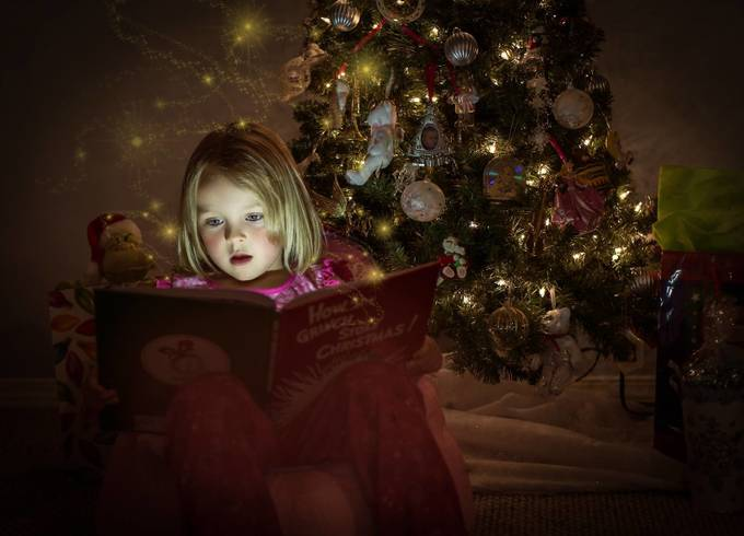 Bella by baillie117 - Holiday Lights Photo Contest 2017
