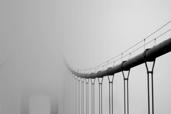 Golden Gate by FerArceAmare - Black And White Architecture Photo Contest