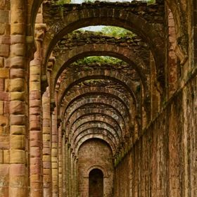 Fountains Abbey - Aisle