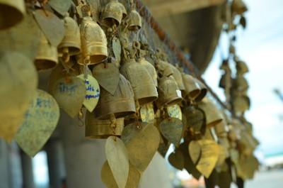 Bells at the Giant Buddha Temple, Phuket Island