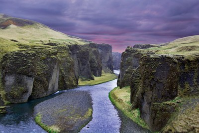 The Canyon of Fjaðrárgljúfur