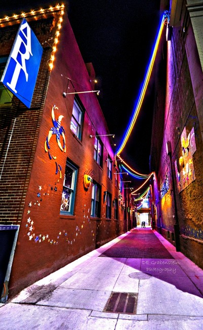 Stroll Down Color Alley