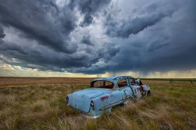 Chevy Storm  by RyanWunsch - A World Of Blue Photo Contest