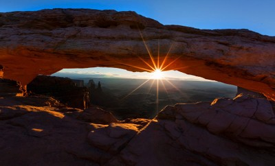 Mesa Arch at Sunrise, Canyonlands NP, Utah