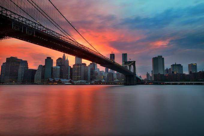 Manhattan skyline, New York by larrymarshall - Cities By The Water Photo Contest