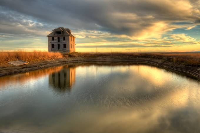 reflections on the past by RyanWunsch - Rule Of Thirds Photo Contest v3