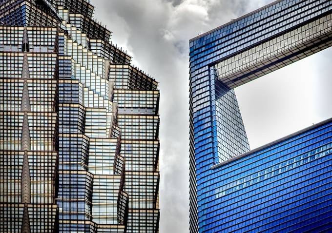 Two Titans in Shanghai by thomasupton - Tall Structures Photo Contest