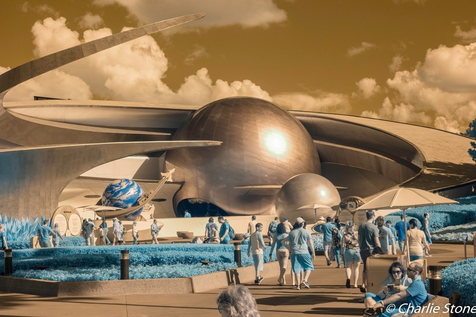 Mission Mars at EPCOT  in IR.