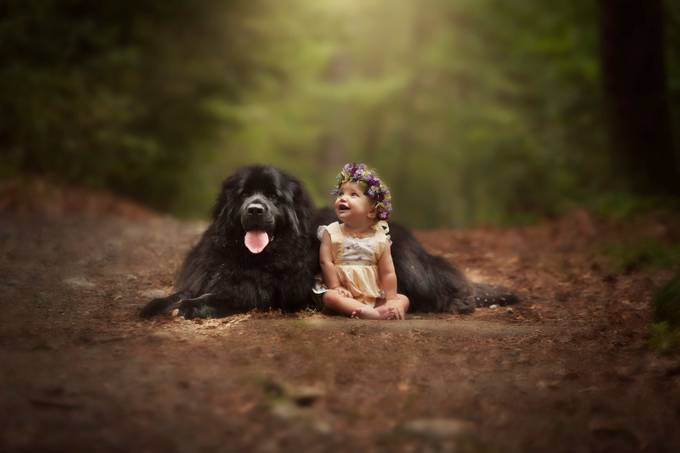The Guardian  by DaltonLanePortraitCo - Kids And Pets Photo Contest