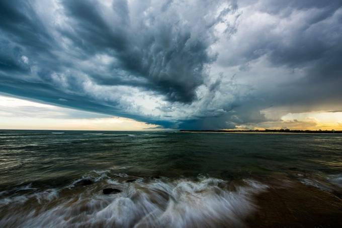 chaos and beauty by Feeko77 - Clouds In Movement Photo Contest
