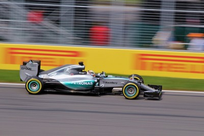 Lewis at speed in Montreal