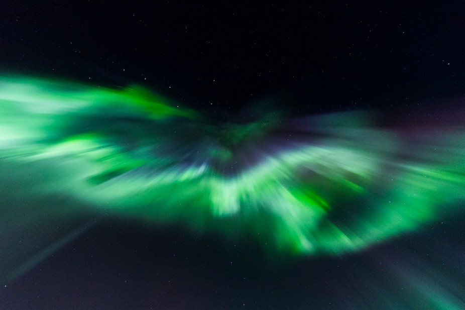 This shot as taken on March 16, 2013 in Fairbanks, Alaska. It turned out to be one of the best sh...