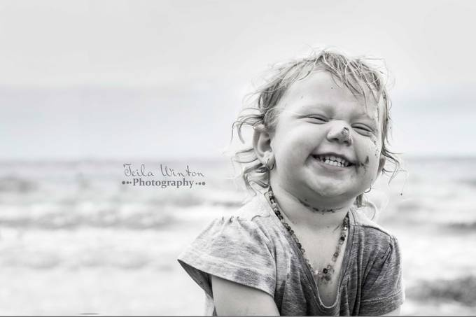 Beach baby by Teila - Happy Moments Photo Contest