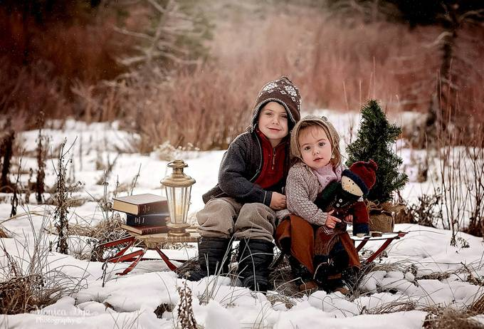 Winter in the Mountains by MonicaDyePhotography - Family In The Holidays Photo Contest