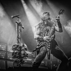 Black Label Society on stage at the 2014 Copenhell festival in Copenhagen. In the front Zakk Wylde on guitar and vocals.