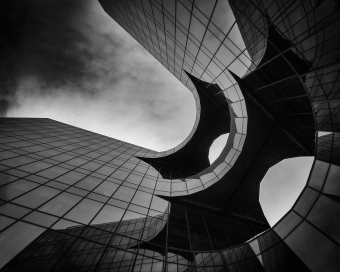Batman Building by SteveCheetham - Black And White Architecture Photo Contest