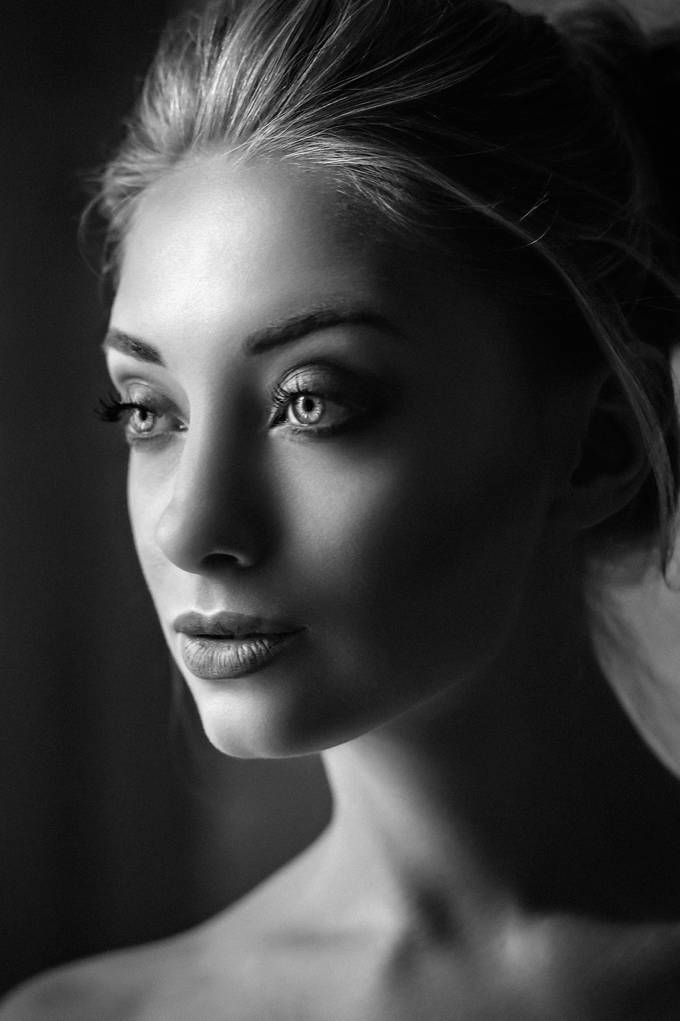 Anna Portrait in B&W by Anatoly_Photography - Dramatic Portraits Photo Contest