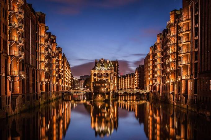Hamburg Speicherstadt by NielsFahrenkrogPhoto - Canals Photo Contest