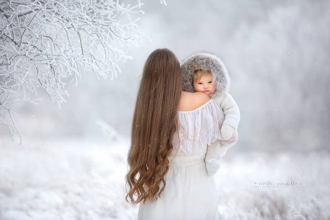 Safe With Mom by NoelleMirabella - Curls Photo Contest