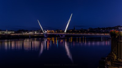 Peace Bridge Derry,Northern Ireland