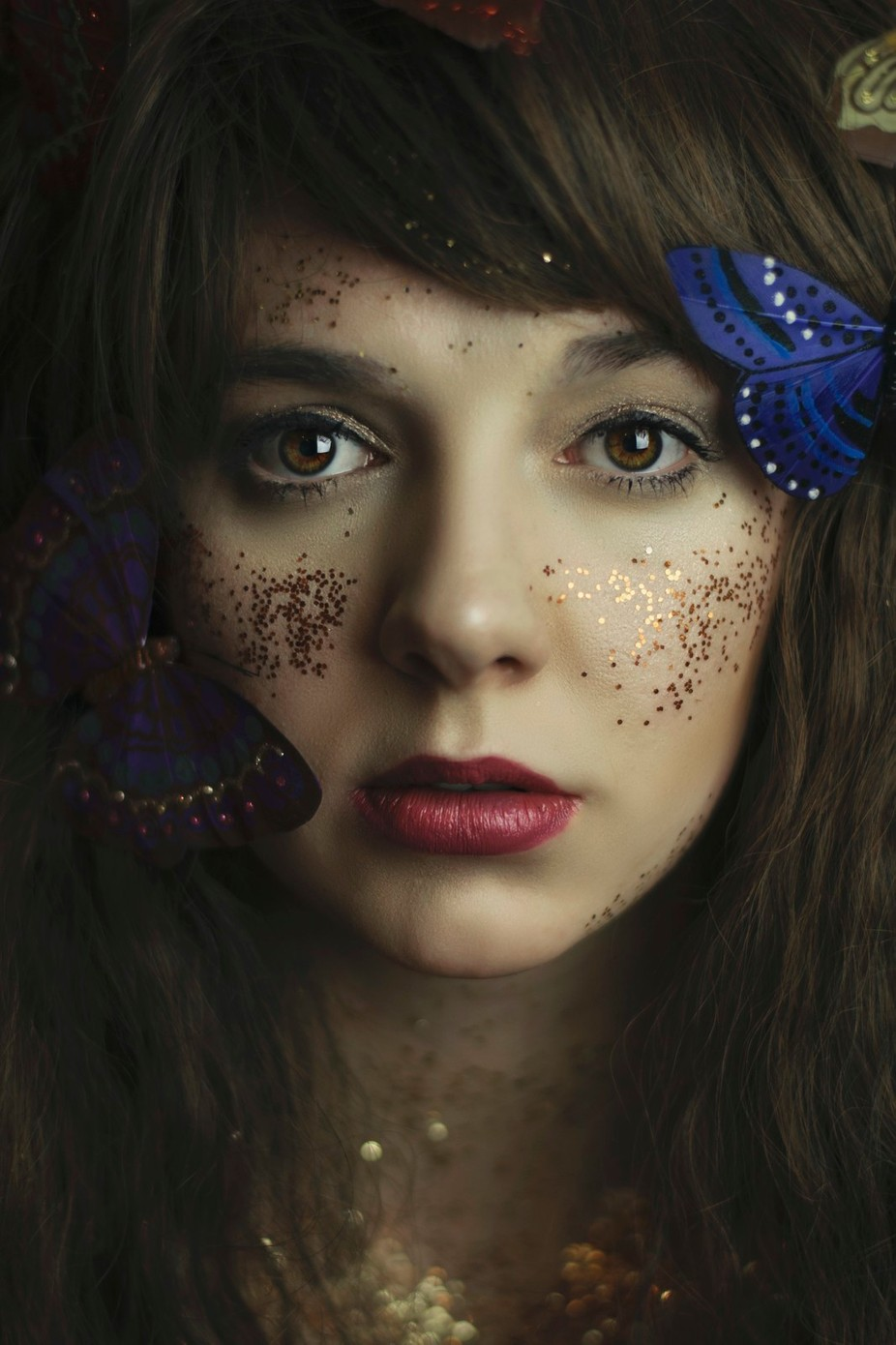 Silent as the Butterfly by kellyrobitaille - Flares And Glitter Photo Contest