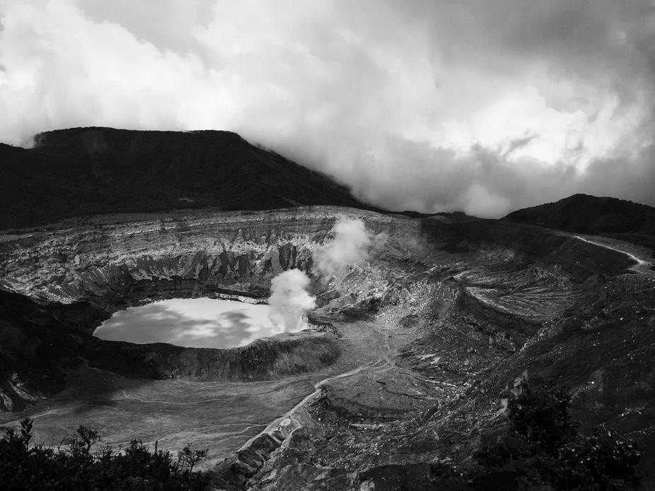 Costa Rican Martian Landscape
