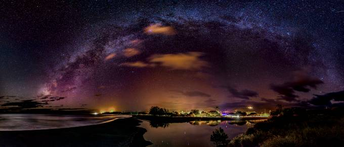 Waimea Town Milky Way by BensViewfinder - Capture The Milky Way Photo Contest