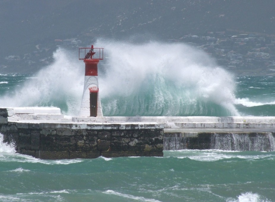 Kalk Bay Might......Stormy Winter afternoon in Kalk Bay Cape Town