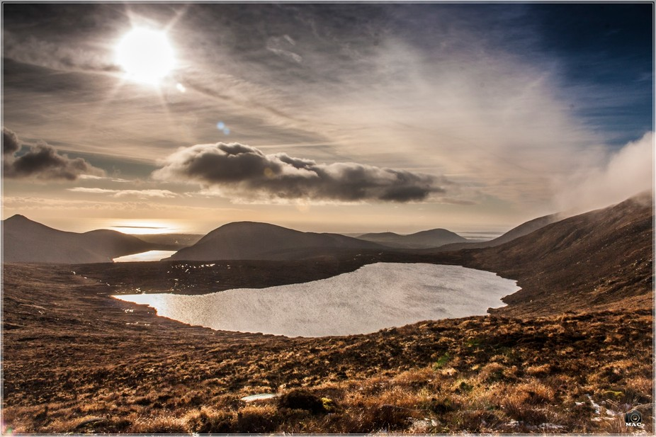Bit of a hike up the Mourne Mountains to get this shot. Such a view so worth it