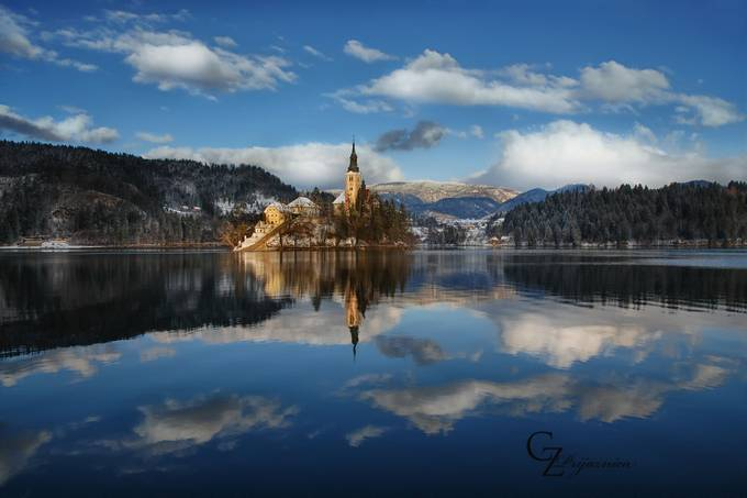 Lake Bled by Prijaznica - Around the World Photo Contest
